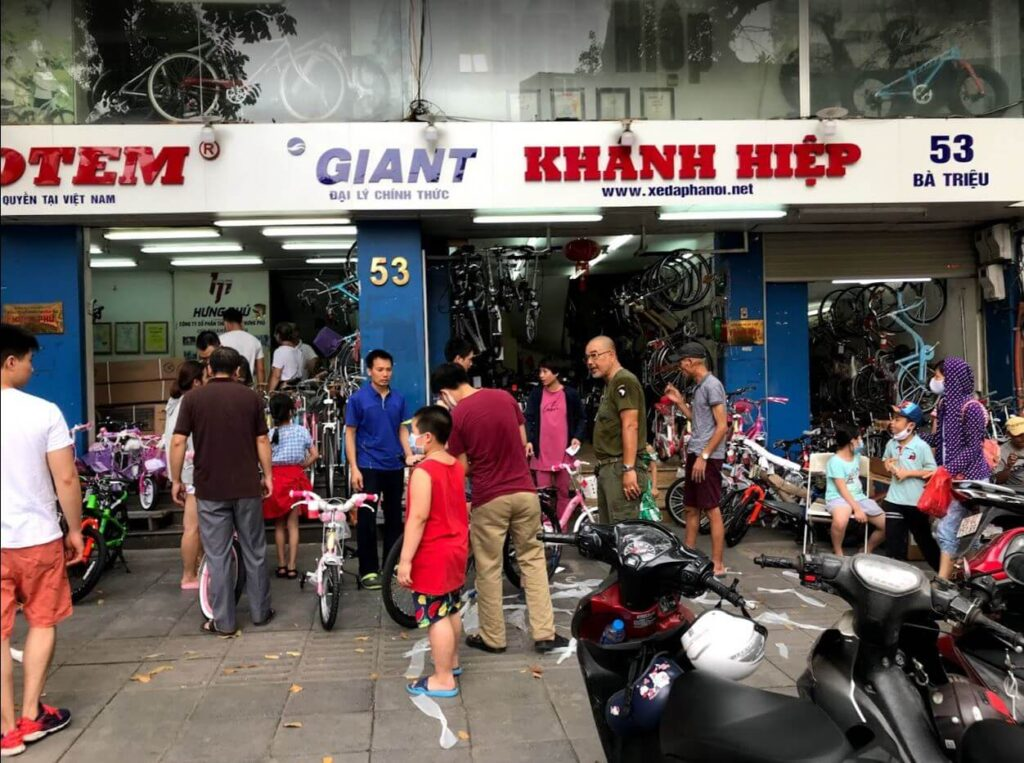 địa chỉ bán xe đạp trẻ em ở hà nội