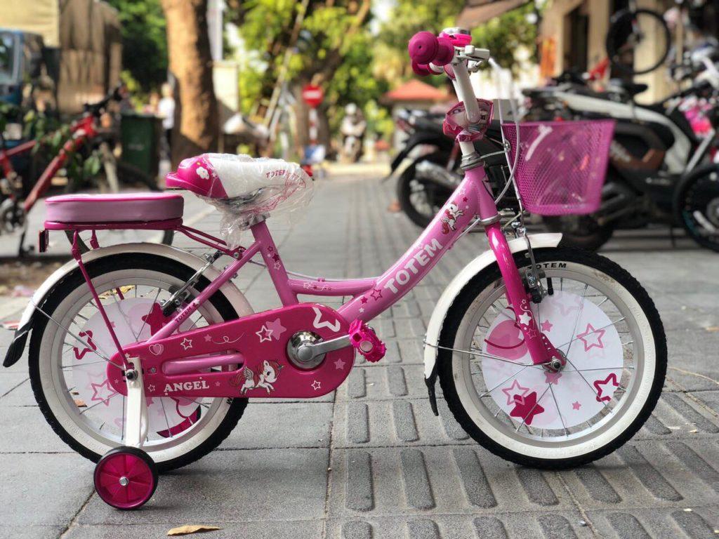 xe đạp bé gái 4 5 6 tuổi